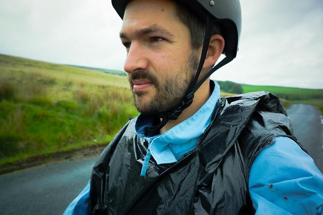 Lancashire cycling selfie
