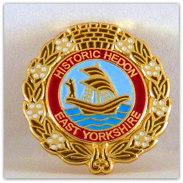Historic Hedon badge