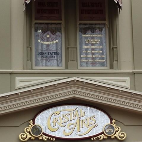 crystal arts上、右側に書かれた社名はフロリダ・プロジェクトにて土地買収に使われたペーパーカンパニーの名前。