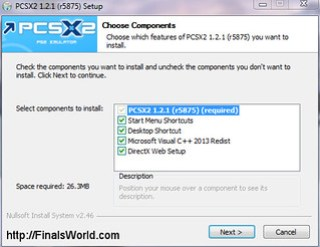Instalacion PCSX2