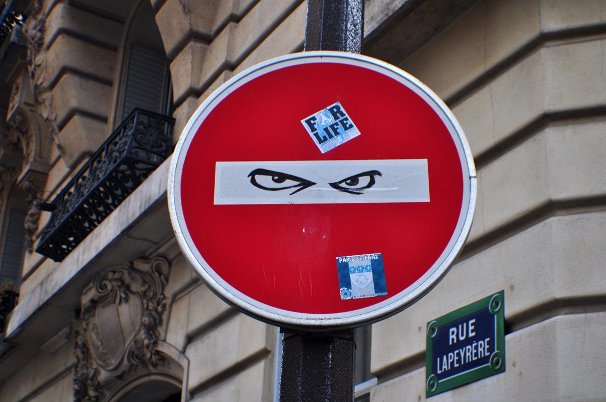 Détournement Panneau Stop