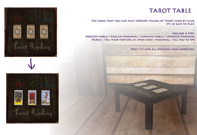 *N*TAROT TABLE