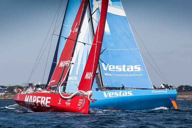"""A SOLID START FOR """"MAPFRE"""" IN THE LAST LEG OF THE VOLVO OCEAN RACE"""