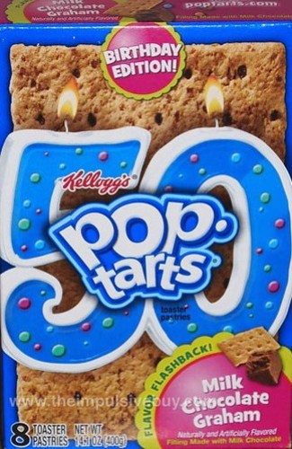 Kellogg's Birthday Edition Flavor Flashback Milk Chocolate Graham Pop-Tarts