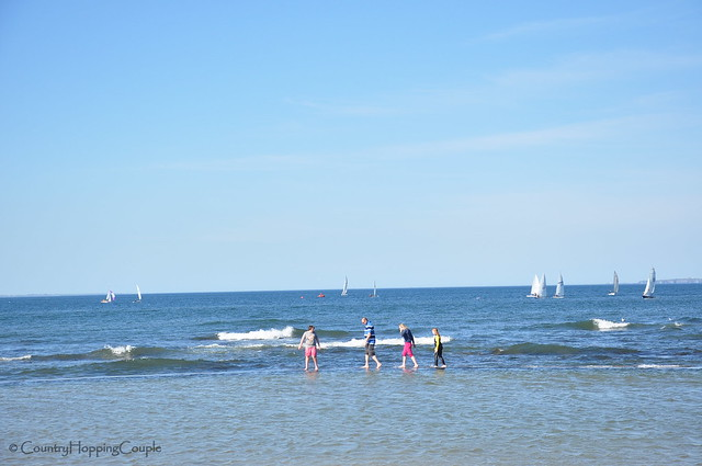 Walk in the sea!