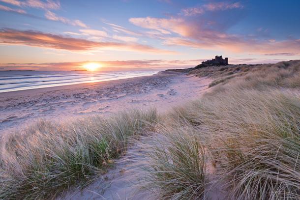Рассвет на побережье. Что фотографировать летом