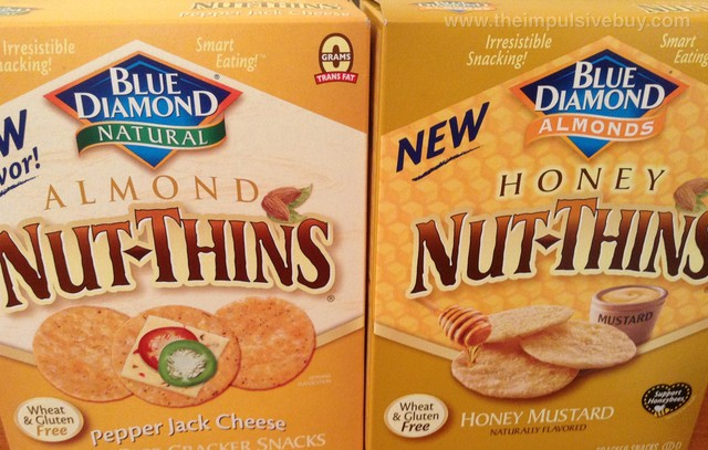 Blue Diamond Honey Nut-Thins Honey Mustard