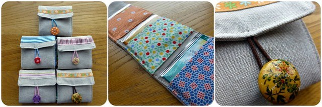 Tea Bag Wallets