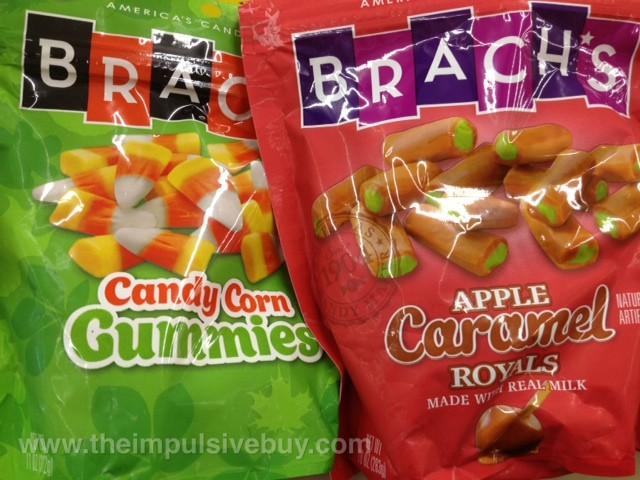 Brach's Candy Corn Gummies and Apple Caramel Royals