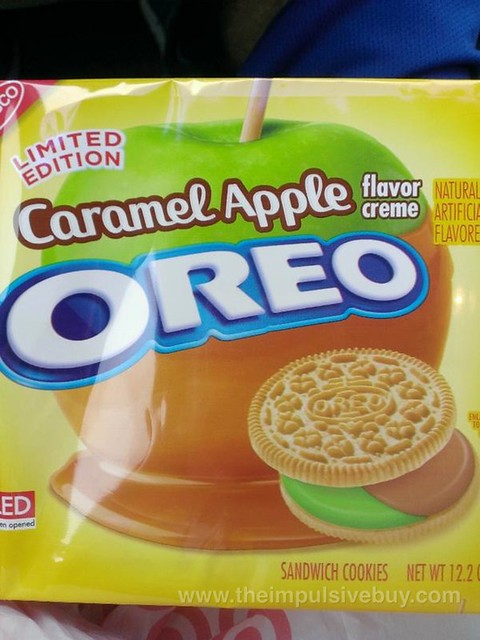 Nabisco Limited Edition Caramel Apple Oreo Cookies