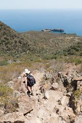 Pfad zur Punta Milazzese