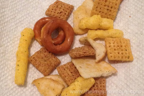 Chex Mix Xtreme Habanero Lime Snack Mix Closeup