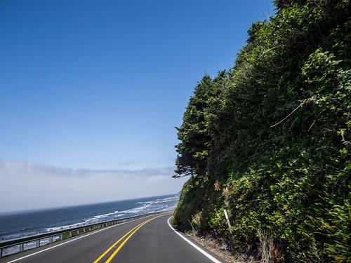 Oregon Coastline above Florence