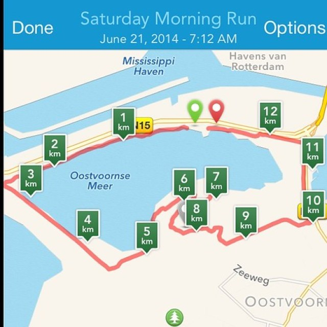 Mijn #trailrun loopje van zaterdagochtend