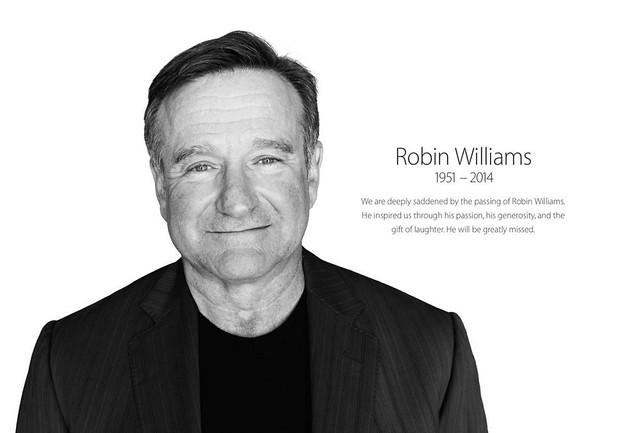Apple's Tribute to Robin Williams