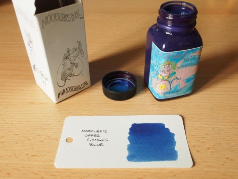 Noodler's Upper Ganges Blue - Ink Review
