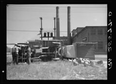 Overturned Truck During 1937 Cambridge Strike – Hi-Res