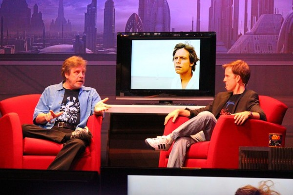 Mark Hamill at Star Wars Weekends 2014