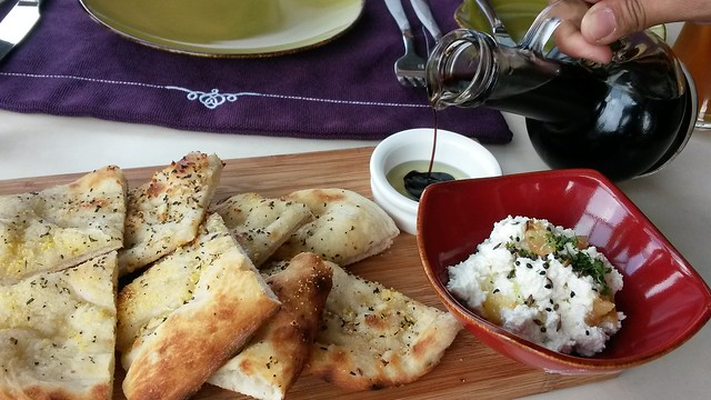 Foccacia with cheese