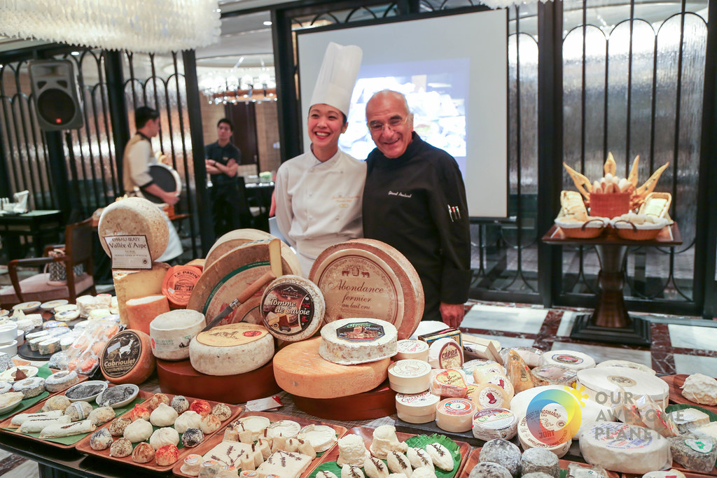 Sofitel's J'Adore Le Fromage- 101 Cheeses by Maître Fromagier Gérard Poulard
