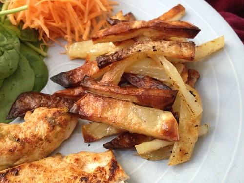 healthy home made chips
