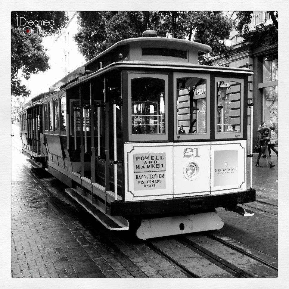 Cable Car in San Francisco, California