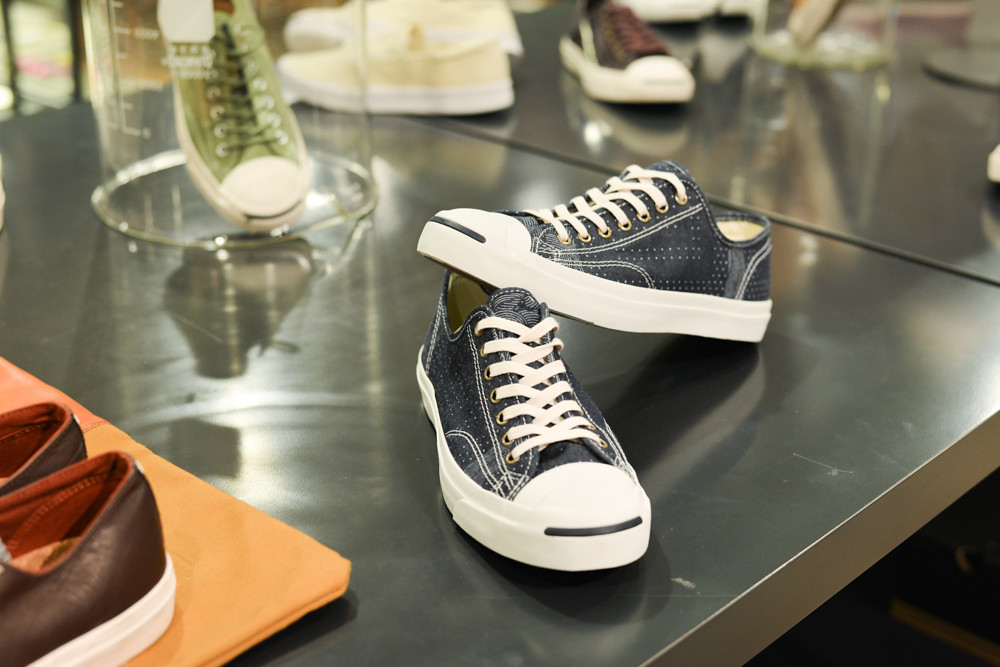 f8e953af6eb7 Checking out the latest Jack Purcell collection at Beaker! At Beaker
