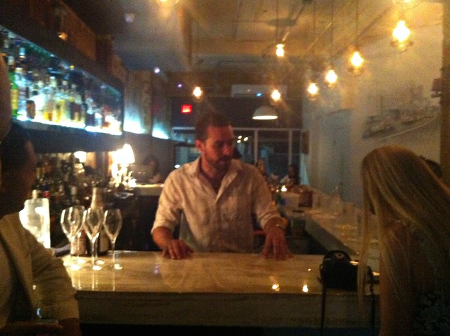 George Jenich, mixologist at Gallo Negro Santurce