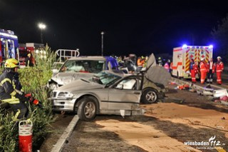 Tödlicher Unfall A3 bei Bad Camberg 03.09.2014