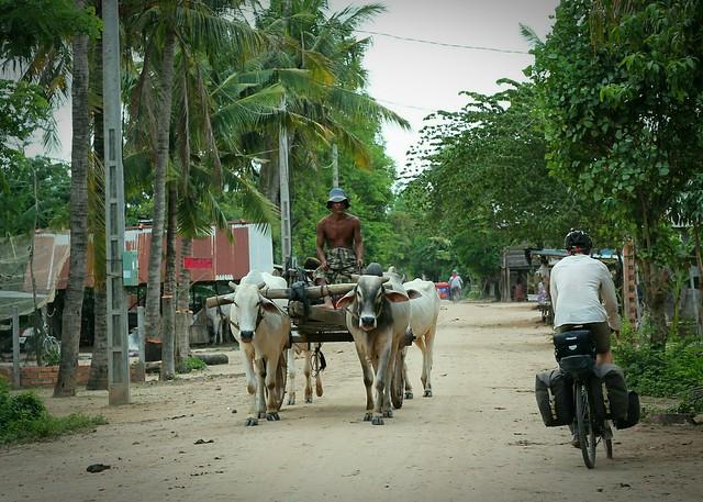 Local traffic, Cambodia