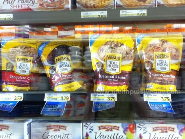 Nestle Toll House Frozen Cookie Dough