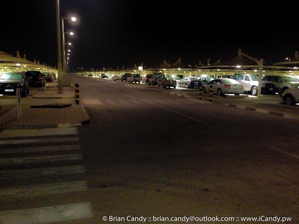 Nice Car Park - But Where is the Shuttle?
