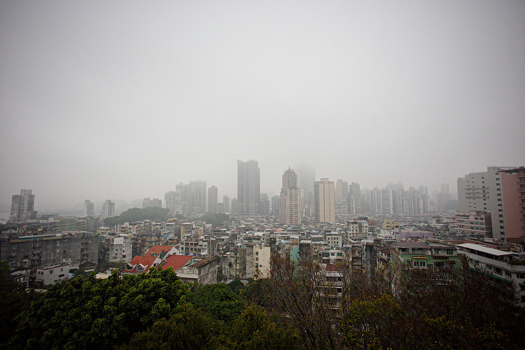 Our view of the city from Mount Fortress.