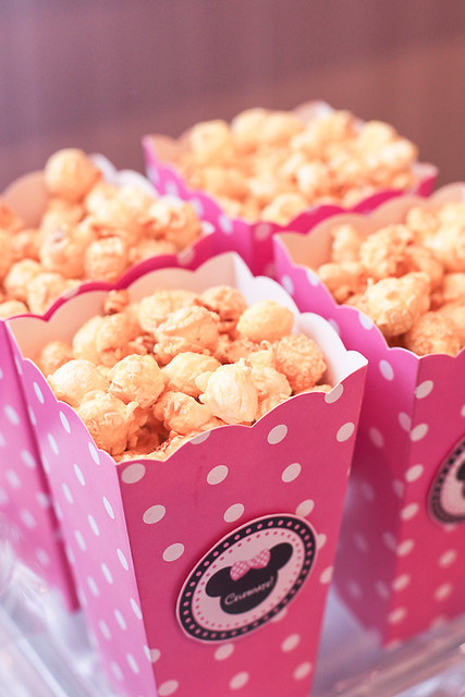 Minnie Mouse Popcorn