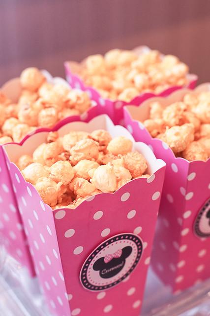 Minnie Mouse Popcorn