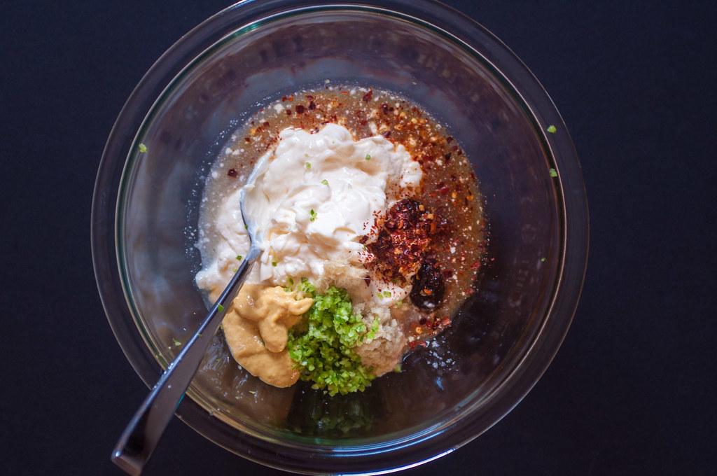 Sweet potato salad dressing ingredients