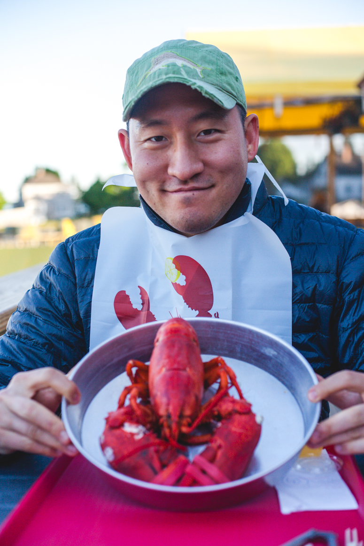 thurston's lobster pound, bernard maine