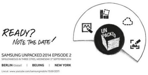 Samsung Unpacked 2014 EP2