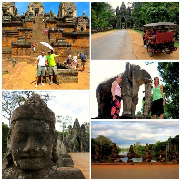 Angkor templos templos en Camboya