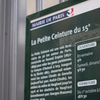 La Petite Ceinture of 15ème