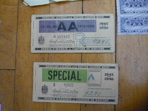 Gas Ration Coupons 2