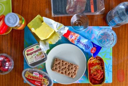 A Norwegian breakfast.