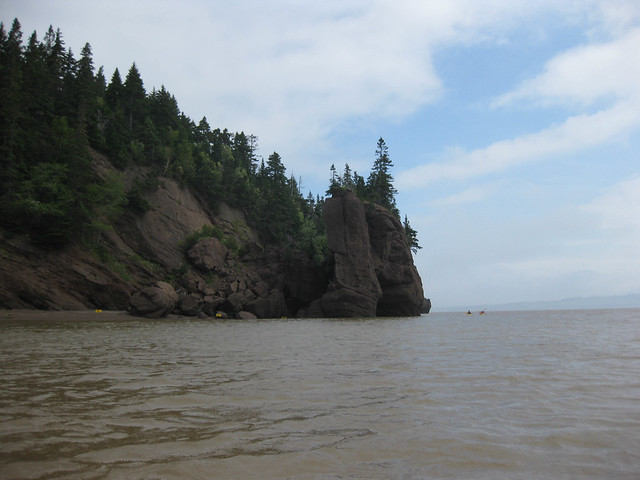 Kayaking the Hopewell Rocks - High Tide