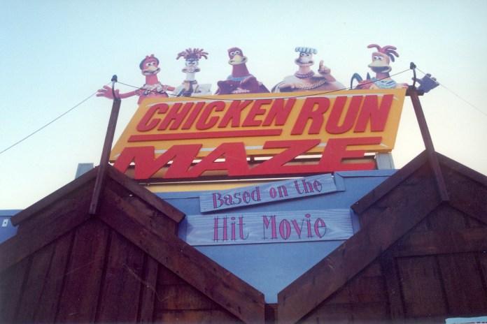 Chicken Run Maze