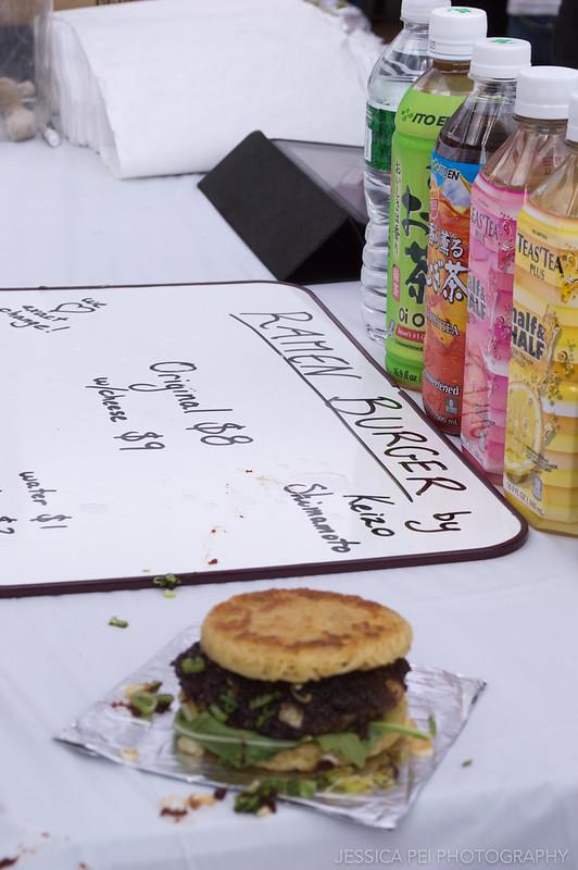 Brooklyn Smorgasburg Ramen Burger