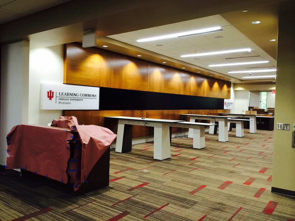 Learning Commons under construction