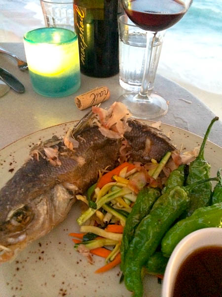 Whole Branzino | Driftwood Kitchen, Laguna Beach, CA