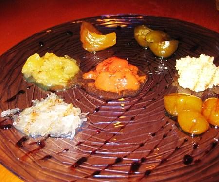 Frutas en almíbar. Hajillo's