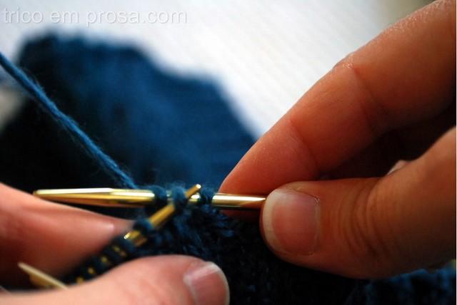 tricô em prosa - Arremate surpreendentemente elástico da Jeny Staiman