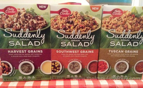Betty Crocker Suddenly Grain Salad